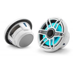 "Speaker 7.7"" M6-770X-S-GwGw-i LED<br/>gloss white trim ring gloss white<br/>sport grille coaxial system (pair)"