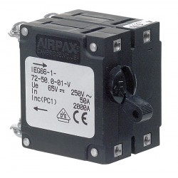 Breaker IEG magnetic 50A 2 pole