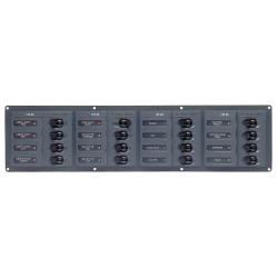 Panel 904NMH 12V 16 breaker<br/>horizontal mount<br/>