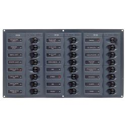 Panel 905NM 12V 24 breaker
