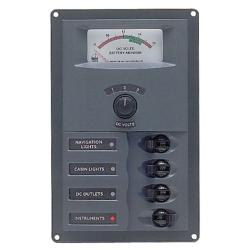 Panel 900-AM 12V 4 breaker