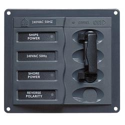 Panel 900-ACCH 230V 2 Inout<br/>selector square mount<br/>