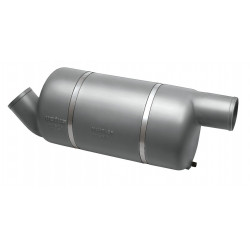 Muffler MF090 for Dia. 90 mm hose<br/>connection<br/>