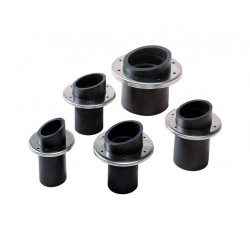 Transom exhaust rubber TRC40R for