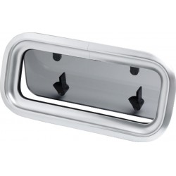 Porthole PZ73 343 x 160 mm cut-out<br/>anodized Aluminium frame<br/>CE certified AIII
