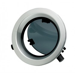 Porthole PW211 Dia. 196 mm cut-out<br/>anodized Aluminium frame with<br/>mosquito screen CE certified A-I