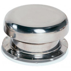Ventilator Mushroom PORTOS1<br/>Dia. 85 mm cut-out SS316 with<br/>plastic trim ring CE certified A-II