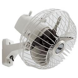Fan oscillating 12V 1.2A wall /<br/>ceiling/ dash mount (includes<br/>installation hardware)