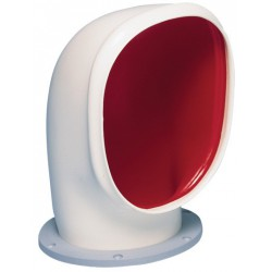 Ventilator cowl YOGI2 ID125mm air<br/>flow area 76 cm2 includes fixed<br/>synthetic ring & nut