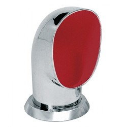 Ventilator cowl YOG316R ID125 mm<br/>SS316 with red interior air flow<br/>area 122.8 cm2 includes ring & nut