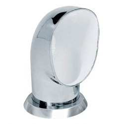 Ventilator cowl YOG316WR ID125 mm<br/>SS316 with white interior air flow<br/>area 122.8 cm2 includes ring & nut