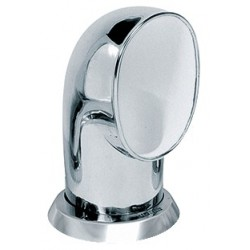 Ventilator cowl TOM316WR ID100 mm<br/>SS316 with white interior air flow<br/>area 78.5 cm2 includes ring & nut