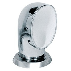 Ventilator cowl JER316WR ID75 mm<br/>SS316 with white interior air flow<br/>area 44.2 cm2 includes ring & nut