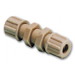 Fitting 6 mm straight bulkhead<br/>connector for wiper system<br/>
