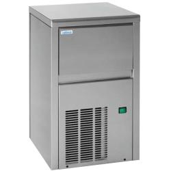"Icemaker 18 kg / day ""clear"" inox<br/>230V 50Hz air ventilated grey door<br/>without frame spray type"
