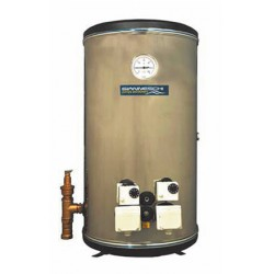 Water heater 150L vertical twin