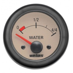 Gauge water level WATER12W cream<br/>12V cut-out Dia. 52 mm excluding<br/>sensor