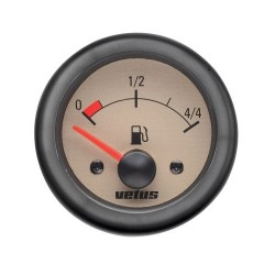 Gauge fuel level FUEL24W cream 24V<br/>cut-out Dia. 52 mm excluding sensor<br/>