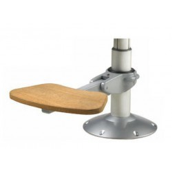Footrest RESTU adjustable & folding<br/>for column Dia. 80 mm & 100 mm<br/>
