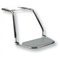 Footrest support mount SS polished