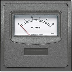 Ammeter 10A for contour 1000 series<br/>panel (with internal shunt)<br/>