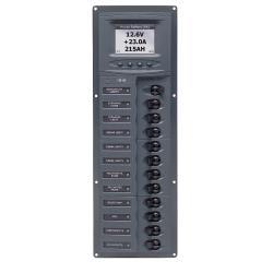 Panel 906V-DCSM 12V 32 breaker<br/>Vertical mount with digital meter<br/>