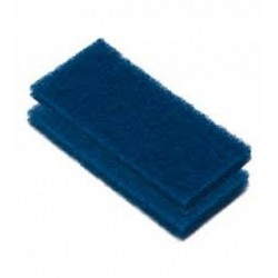 Scrub Pad Blue Medium (2pc)<br/>10 x 25 x 2.5cm DM251, pack of 2pcs<br/>