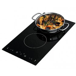 Cooker Electric Touch Ctrl<br/>2 surface 220V 50/60Hz Vitroceramic<br/>1200W-1700W