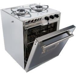 Cooker Gas 2 burner w/oven Tropic<br/>W400 x H510 x D420 mm 25Ltr<br/>