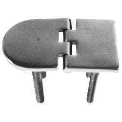 Hinge 70x40 mm 45 mm stud casted<br/>SS316<br/>