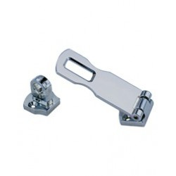 "Hasp swivel eye 3"" chromed zinc<br/>alloy<br/>"