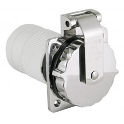 """<span class=""""tooltip"""">Shore power inlet 6371EL-BX 32A<br/>230V SS316 body with Easy lock<br/>system & rear safety enclosure with... <span class=""""tooltiptext""""> Shore power inlet 6371EL-BX 32A 230V SS316 body with Easy lock system & rear safety enclosure with strain relief </span> </span>"""