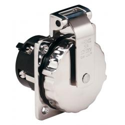 Shore power inlet 6373EL 50A<br/>125/250V 4 wire SS cover without<br/>rear safety enclosure