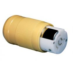 Shore power connector 6364CRN<br/>female 50A 125/250V 4 wire 3 pole<br/>