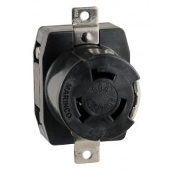 Shore power receptacle 6369CR wire<br/>dockside 50A 125/250V 4 wire 3 pole<br/>