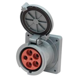 Shore power receptacle M5100R9 100A<br/>3 Dia.Y 120/208V 5 wire 4 pole<br/>(suits 08.13.0107)