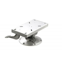 Seat base PCS15 with swivel & slide<br/>153 mm height Dia. 228 mm base<br/>