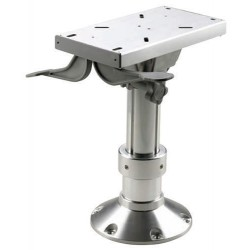 Seat pedestal PCG3040 300-400mm<br/>powermatic column Dia.87/73mm &<br/>Dia.228mm base with swivel & seat