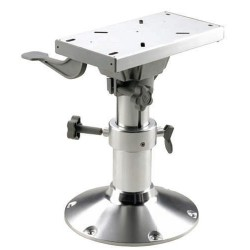 Seat pedestal PCMS4363 43.5-63.5mm<br/>manual column Dia.87/73mm &<br/>Dia.305mm base with swivel & seat slide