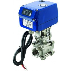 "Valve ball 3/4"" motorized 24V SS316<br/>MV24A series<br/>"