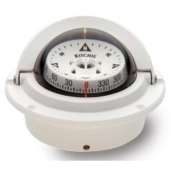 "<span class=""tooltip"">Compass F-83W flush mount 3"" Combi<br/>dial 12V Green night light built in<br/>compensator ""Voyager series"" White... 								<span class=""tooltiptext""> 									Compass F-83W flush mount 3"" Combi dial 12V Green night light built in