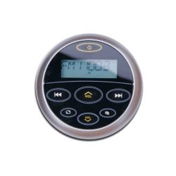 Stereo remote control MR45 (wired)<br/>with display Black body<br/>