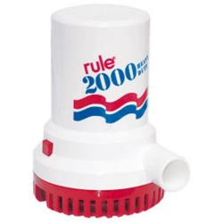 Pump bilge 2000 Gph 12V non<br/>automatic rule series<br/>