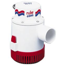 Pump bilge 4000 Gph 12V non<br/>automatic rule series<br/>