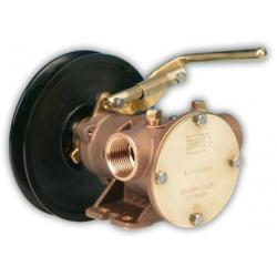 "Pump clutch manual 21.6 Gpm 1"" NPT<br/>A & B pulley belt suitable for<br/>bilge & deckwash application"