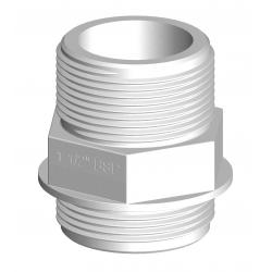 Threaded connector white