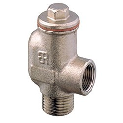 Siphonbreak valve nickel plated brass Art. 1250