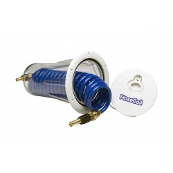 Enclosure flush mount washdown hoses