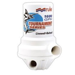 Tournament series dual port 1600 Gph 6054 Lph livewell pump