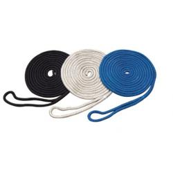 Dock line double braided nylon rope
